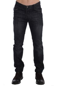 Slim Fit Cotton Denim Pants