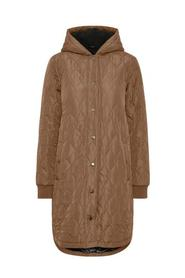 Quilted Coat w. Hood