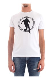 BIKKEMBERGS C70012DE1823 T-SHIRT Men WHITE