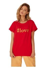 T-shirt #love oversize