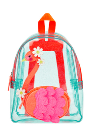 Flora Flamingo Jelly bag
