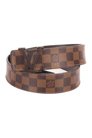 Damier Ebene Initiales Belt Canvas