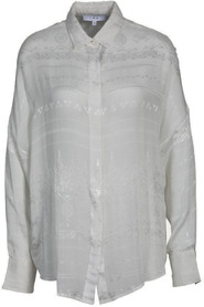 Bluse Sury mit Muster