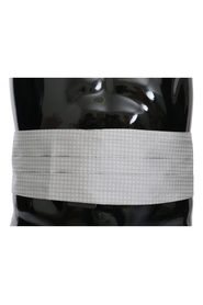 Patterned Waist Belt Silk Cummerbund