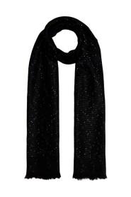Logo city print scarf