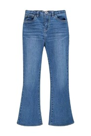 4ED524 HIGH RISE CROP FLARE JEANS