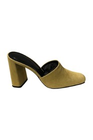 Nina LEMON Suede Leather