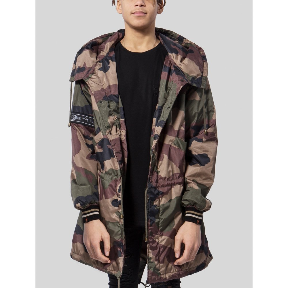 Parka London Camouflage in camouflage