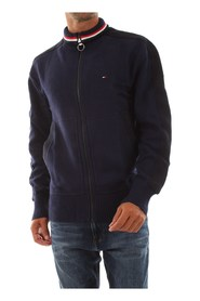 TOMMY HILFIGER MW0MW10865 ICONIC ZIP KNITWEAR Men blue