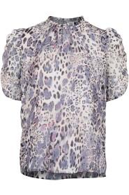 Dorris Leopard blouse