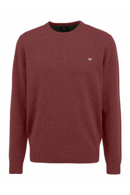 Elbow Patches O-Neck Sweater Genser