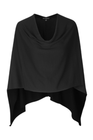 Sort Ilse Jacobsen poncho