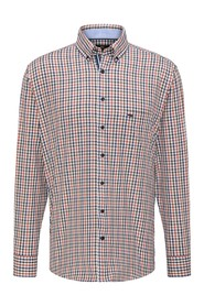 Twill Combi Check Shirt Skjorte