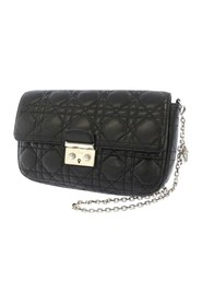 Cannage Miss Promenade Chain Leather Crossbody Bag