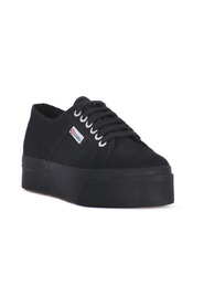 SNEAKERS COTU FULL BLACK UP AND DOWN