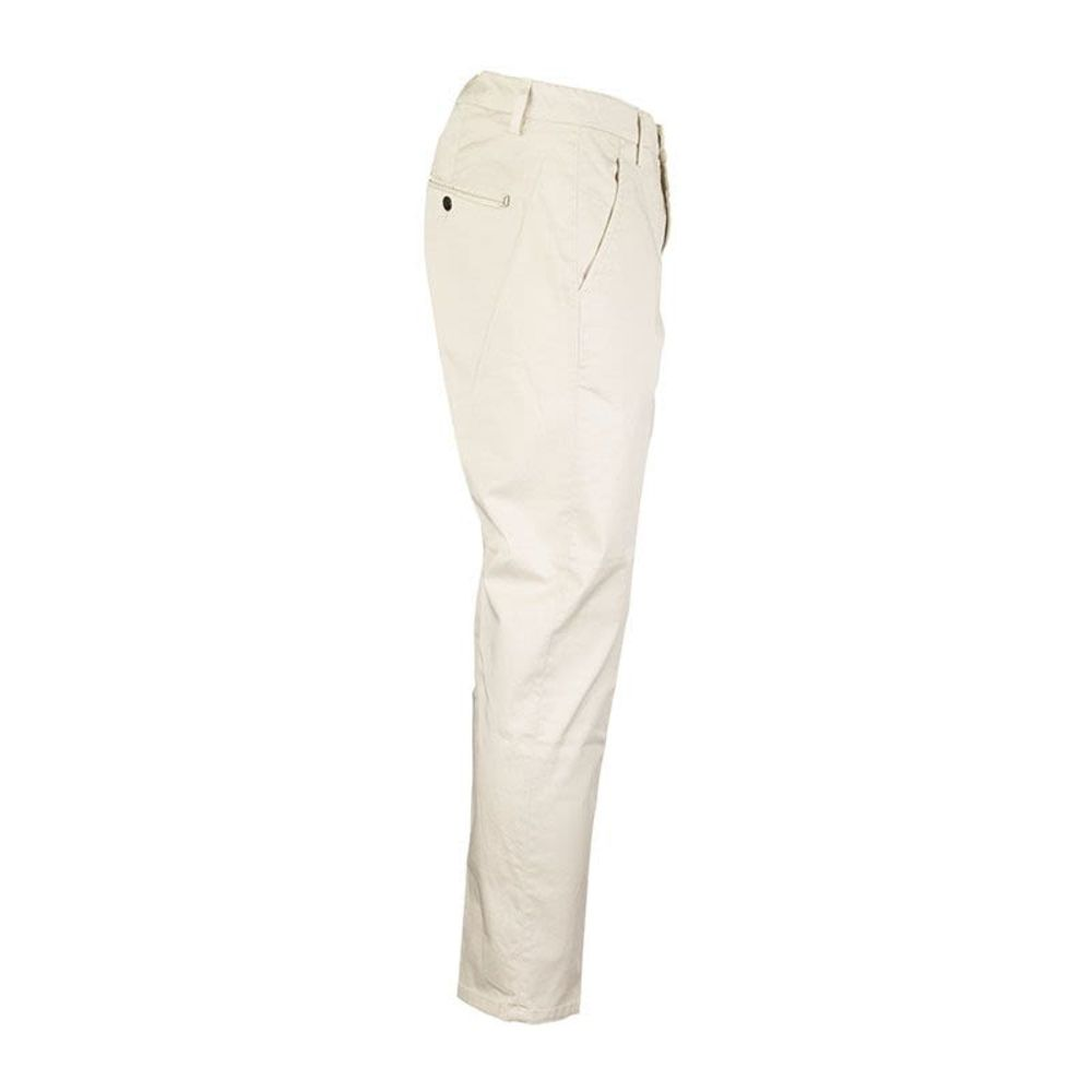 White CASUAL TROUSERS ALFREDO | Dondup | Chinos | Herrbyxor 20121548