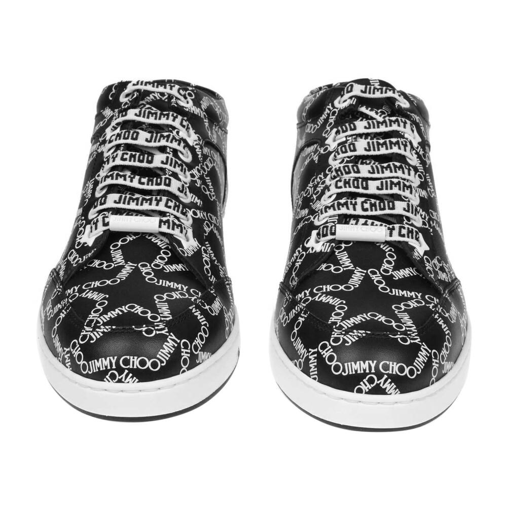 Jimmy Choo Black/white Sneakers Jimmy Choo