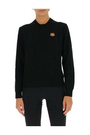 tiger-embroidered jumper