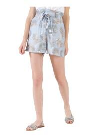 Shorts con vita a sacchetto
