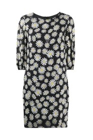 Daisies pattern dress