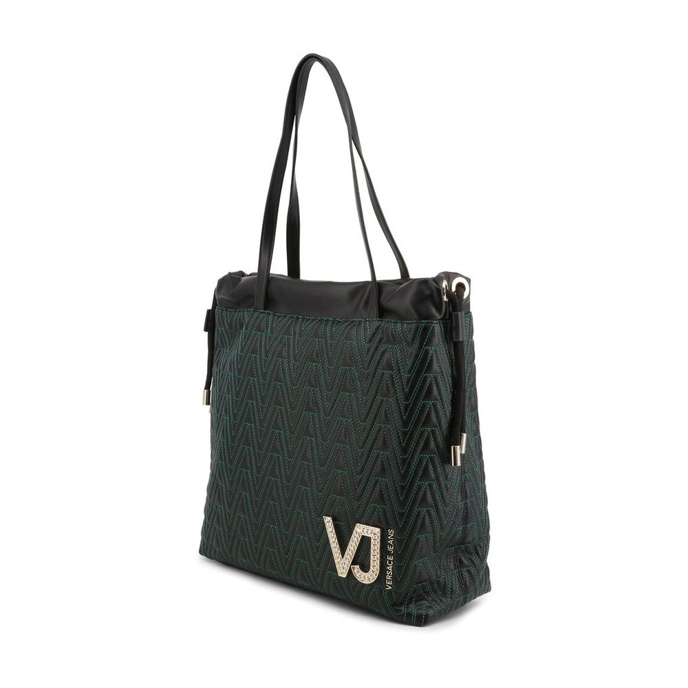 Versace Jeans Couture Black Shopping Bag Versace Jeans Couture