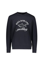 Sweatshirt with Printed Logo