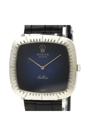 pre-owned Cellini Mechanical White Gold (18K) Dress Watch 4084