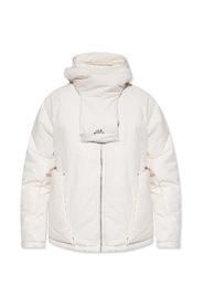 Jacket with protective face panel