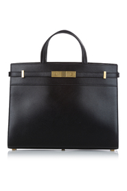 Pre-owned Small Manhattan Leather Satchel