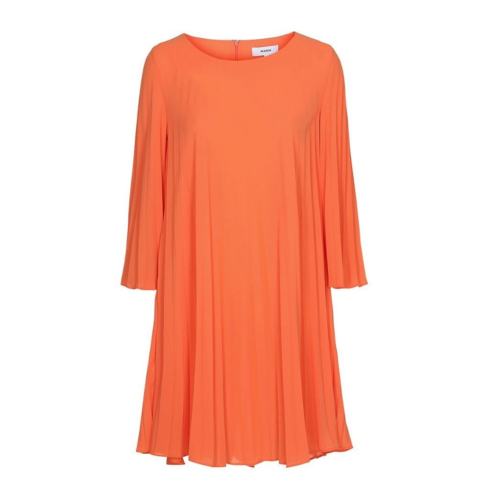 YMA Pleated Chiffon Dress