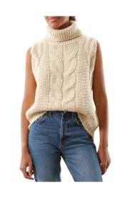 Hand Knit Vest Vintage