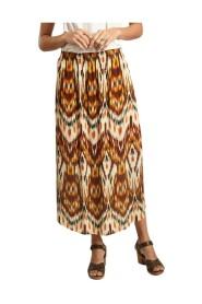 Jalouse folk print skirt