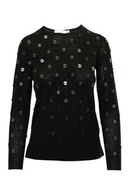Sweater with Embellishments
