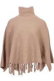 poncho taupe 25213-1254