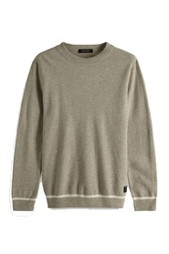 Easy structure crewneck