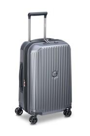 Securitime Zip Hard Utvidbar Kabin Koffert Med 4 Hjul 55 cm