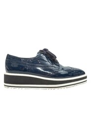 Pre-owned Patent Leather Platform Brogues