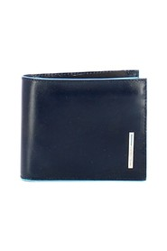 Slim wallet with Square RFID coin purse