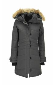 LORETTE - Parka with hood and fur coat
