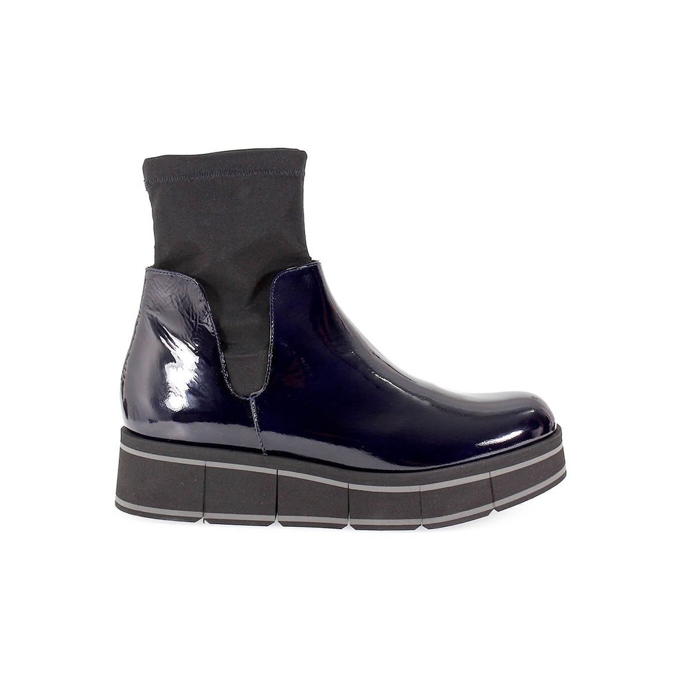 KIRK NAVY ANKLE BOOT