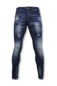 Basic Pants - Jeans Paint - D3065