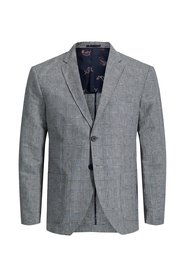 Blazer Checked linen