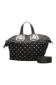 Nightingale Studded Nylon Satchel