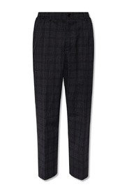Bout pleat-front trousers