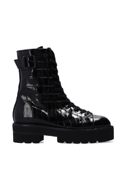 'Ryder' patent leather boots