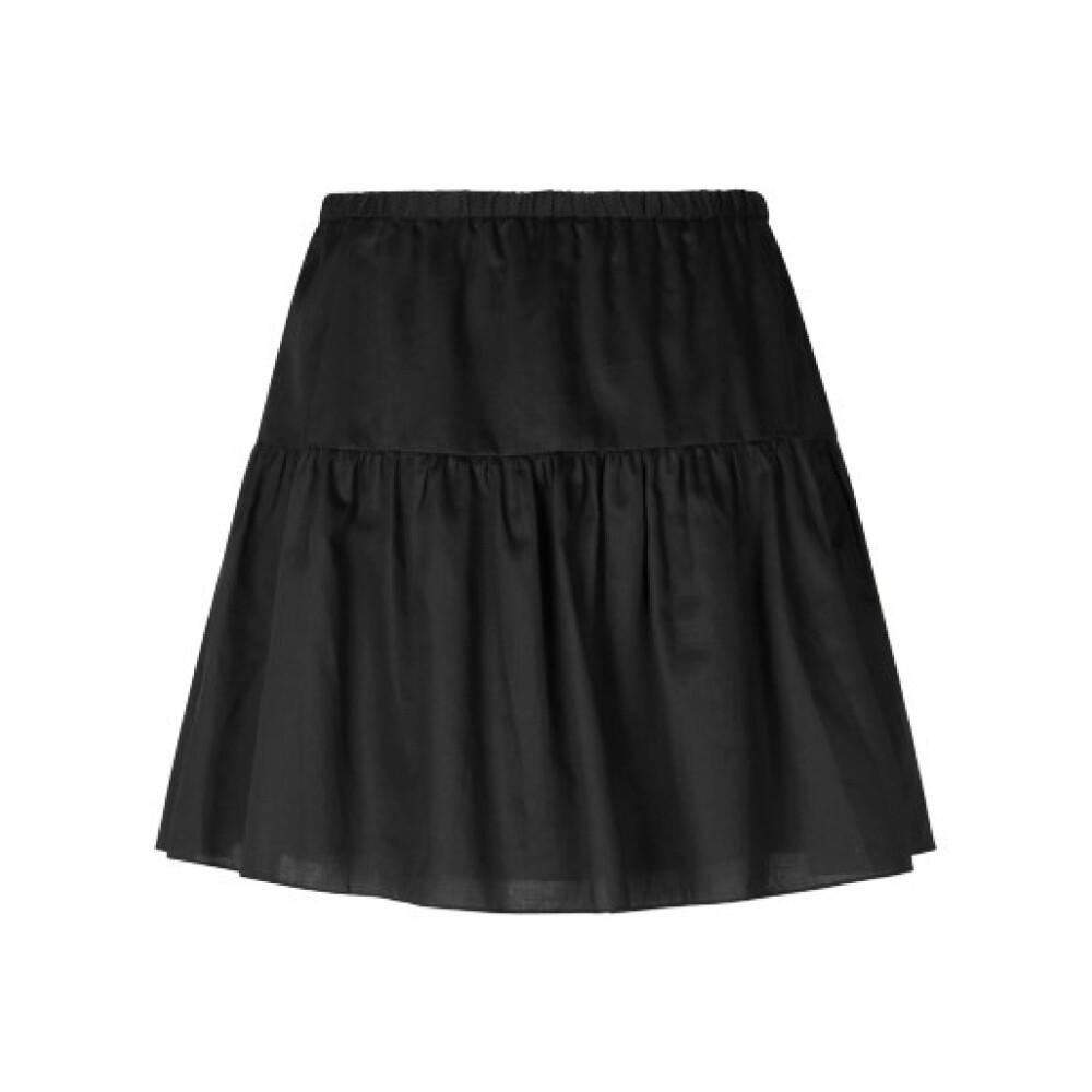 Black Sparkling Skirt  Realty  Miniskjørt - Dameklær er billig