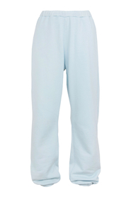 Trouser High Waisted Jogger With Terry Patches