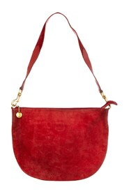 Pre-owned Suede Hobo Bag Leather