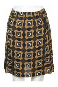 Printed Flare Skirt -Pre Owned Condition Excellent IT36