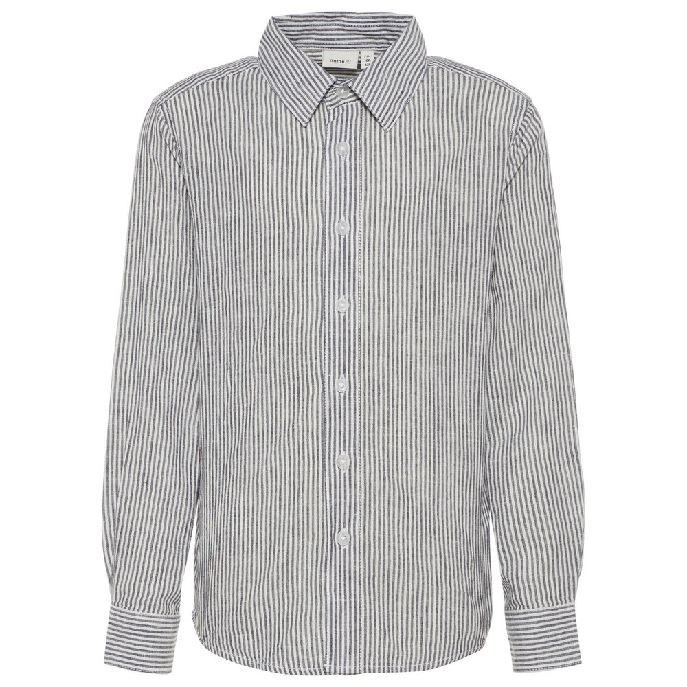 Shirt striped linen